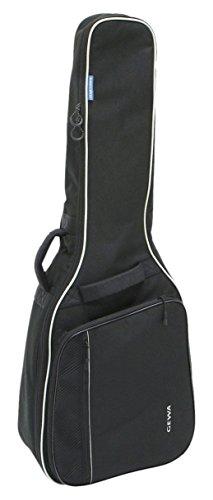 Gewa 212110 Economy 3/4 - 7/8 Gig Bag für Kassikgitarre, Gitarrentasche, Gitarrenhülle, schwarz, reißfest und wassergeschützt