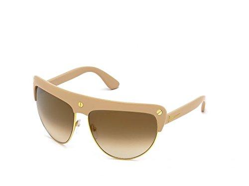 Tom Ford Für Frau 0318 Shiny Pink / Gold / Brown Mirror Gestell Aus Metall Und Kunststoff Sonnenbrillen