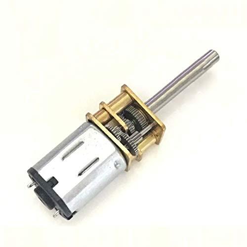 censhaorme 30rpm-1000RPM 20mm Lange Achse N20 Getriebemotor Miniatur-DC 6V Verzögerung Motor für elektronische Schlösser Roboter
