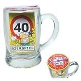 Udo Schmidt Bier-Spiel im Glas 40