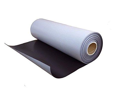 Foglio magnetico naturale con adesivo 0,9mm x 31cm x 100cm - utilizzabile per lavori di arte, presentazioni e progetti educativi