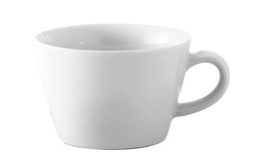 Kahla - Porcelaine pour les Sens 394726A90039C Five Senses Tasse à Cappuccino Blanc 10 x 6,5 cm