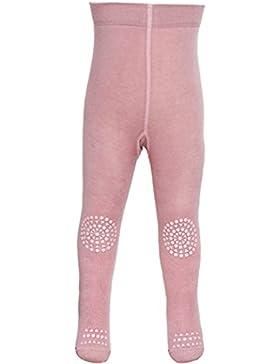 ❤ GoBabyGo Baby Krabbel Strumpfhose - rutschfeste Sohlen, Gummibeschichtung an Knien und Zehen, Öko Tex zertifiziert...