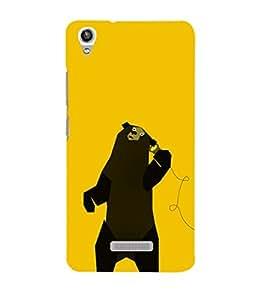 EPICCASE talking bear Mobile Back Case Cover For Lava Pixel V1 (Designer Case)