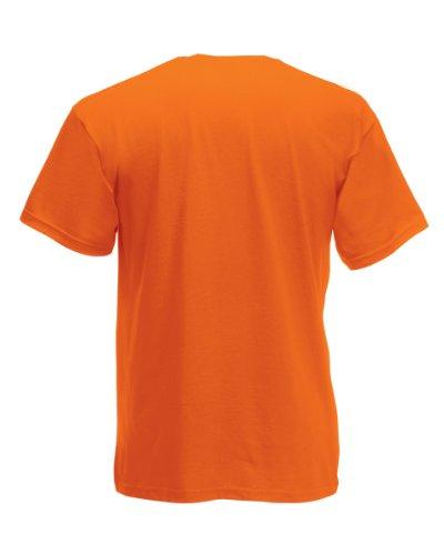 Fruit of the Loom T-Shirt S-XXXL in verschiedenen Farben XXL,poppy orange XXL,Poppy Orange -
