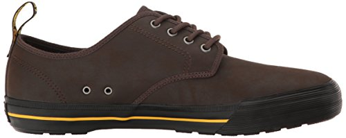 Dr.Martens Mens Pressler Leather Shoes Brown