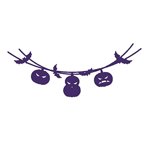 Stanzschablone Scrapbooking, Holeider Frohe Halloween Metall Schneiden stirbt Schablonen Scrapbooking Prägung DIY Handwerk (Happy Glitzer Halloween Zeichen)