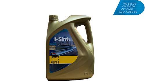 Eni i-Sint tech 0W30, olio sintetico per motori, 5 lit