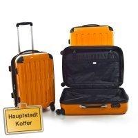 Hauptstadtkoffer Set di valigie, orange (arancione) - HK-4180