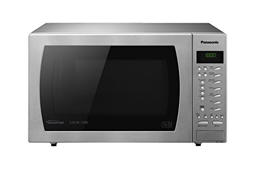 Panasonic NN-CT585SBPQ 1000W 27L Freestanding Combination Microwave Oven Stainless Steel lowest price