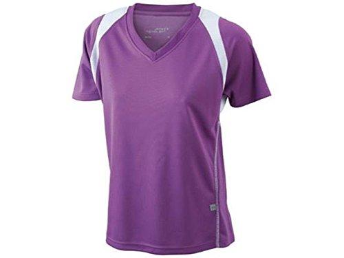 ATELIER DEL RICAMO - T-shirt de sport - Femme Pourpre