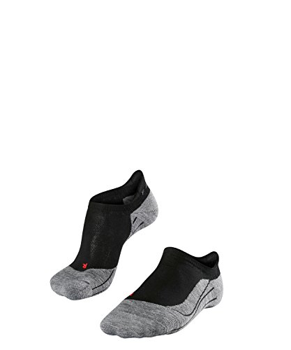 FALKE Damen Füsslinge / kurze Laufsocken RU4 Invisible - 1 Paar, Gr. 39-40, schwarz, feuchtigkeitsregulierend, Sportsocken Running