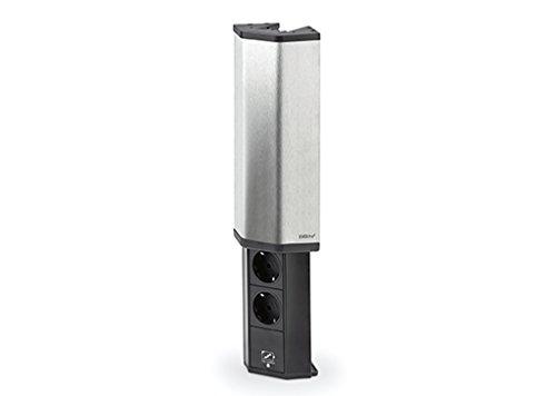 EVOline V-PORT mit USB Charger, 2 Steckdosen + 1 x USB Charger