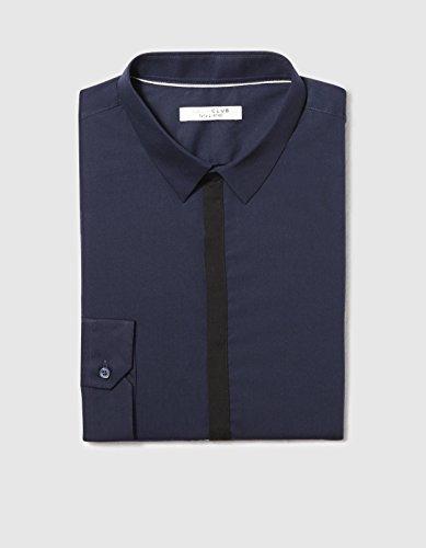 Celio Herren Businesshemd Darigot Blau - Blau (Tintenblau)