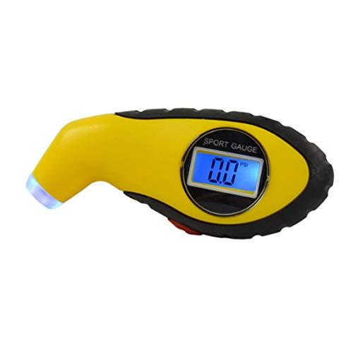 Delicacydex Manometro per pneumatici digitale di alta precisione Misuratore di pressione pneumatici per auto portatile Misuratore di pressione della ruota elettronico Accessori per auto