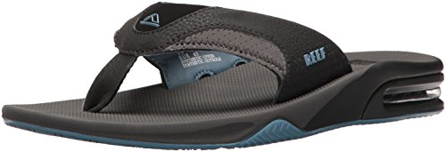 Reef FANNING, Herren Zehentrenner, Mehrfarbig (Grey/Light Blue), 40 EU (7 UK) -