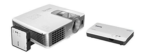 BenQ W1070+W 3D Wireless DLP Projektor (Wireless Full HD Kit, 3D über HDMI, Full HD, 1.920x1.080 Pixel, 2.200 ANSI-Lumen, Kontrast 10.000:1, Vertical Lens Shift, 2x HDMI, 1x MHL, Smart Eco) weiß Wireless Ready Kit
