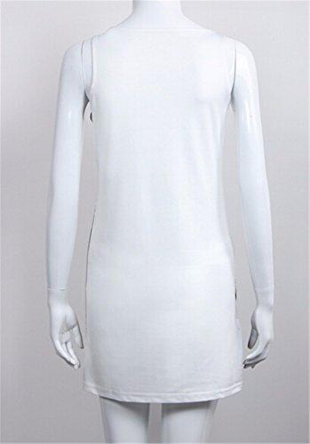 QIYUN.Z Art Und Weise Frauen Sommer Sexy A-Linie Der Dünnen Sleeveless Patchwork Bodycon Minikleid Khaki