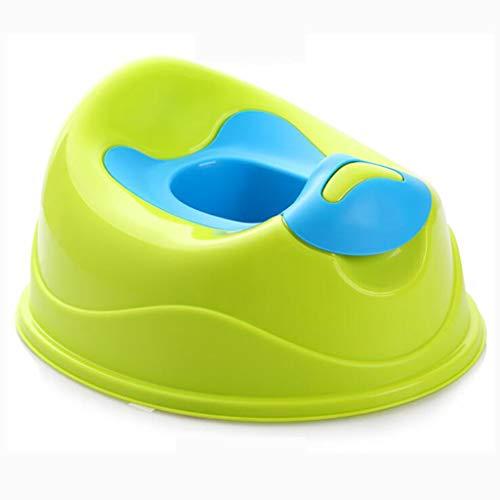 LLRDIAN Toilette pour enfants st tabouret de toilette pour jeune fille p pot de bébé pour urinoir mâle ▎ épaississement des toilettes pour enfant en bas âge (Couleur : Green)