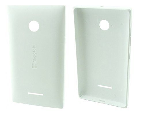 Original Microsoft Nokia Lumia 435 532 Akkudeckel Backcover Akku Deckel Akkufachdeckel Batterieabdeckung Rückseite Cover White Weiß PN: 02508T7