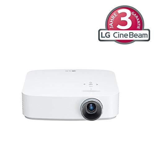 LG Beamer PF50KS bis 254 cm (100 Zoll) CineBeam Full HD LED Projektor (600 Lumen, USB Type-C, webOS), weiß Lg Full Hd