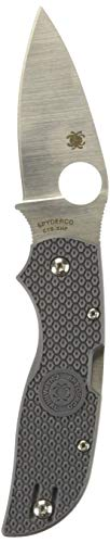 Spyderco Chaparral C152GY / C152PGY grauer FRN-Griff Taschenmesser -