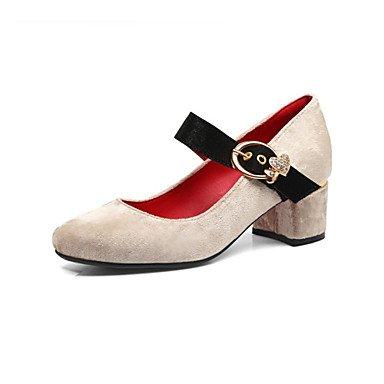 Sandali Donna Primavera Estate Autunno Club Scarpe glitter personalizzata Materiali Ufficio Wedding & carriera casuale tacco a spillo Oro Argento Red