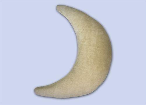 Preisvergleich Produktbild Theraline Plüschmond Mondkissen Stillkissen 140x27 cm sand