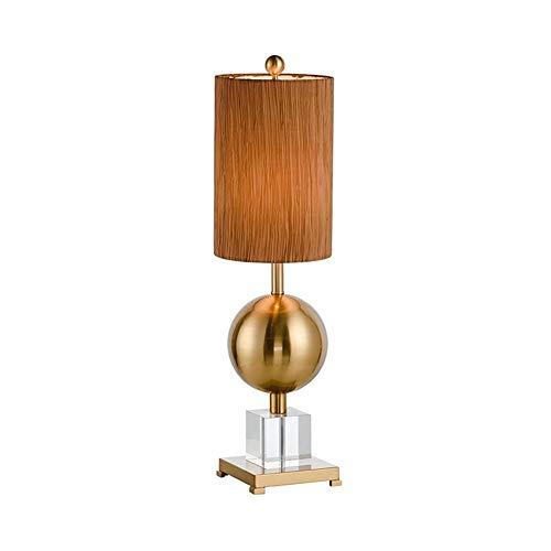 WG Tischlampe - Tischlampe führte kreative Einfachheit Power Switch Taste Wohnzimmer Schlafzimmer Nachttischlampe Studie Zimmer dekorative Beleuchtung -