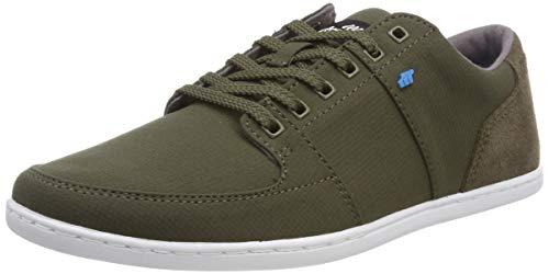 Boxfresh Herren Spencer Sneaker, Grau Grün, 42 EU - Grün Und Sneakers Grau