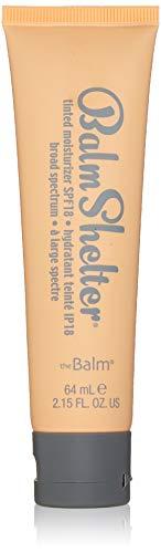 theBalm getönte Tagescreme Balm Shelter Tinted Moisturizer, Light, 1er Pack (1 x 64 ml) - Gesicht, Ton Getönte Feuchtigkeitscreme
