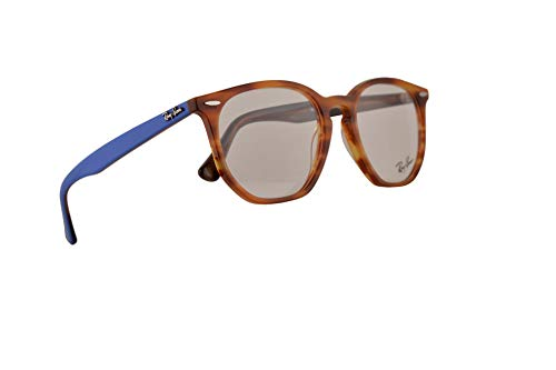 Ray-Ban RB7151 Brillen 52-19-145 Braun Havana Mit Demonstrationsgläsern 5799 RX7151 RB 7151