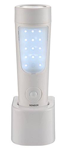 % Poly Pool PP3301 GENIALUX Lampada Ricaricabile 14 + 6 LED Portatile Luce Di Emergenza Luce Notturna Con Rilevatore Di Presenza e Base di Ricarica miglior prezzo