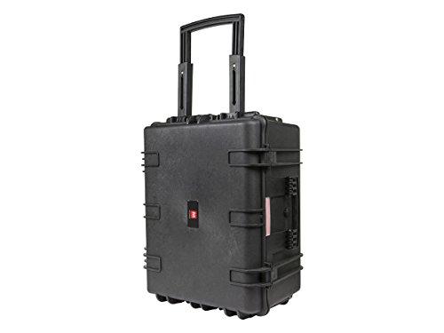 Monoprice wetterfest Hard Case mit Rädern und anpassbare Schaum, 66x 50,8x 35,6cm -