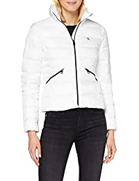 Calvin Klein Logo Fitted Puffer Giacca Donna