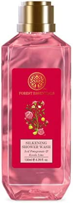 Forest Essentials Silkening Shower Wash Iced Pomegranate & Kerala Lime 1