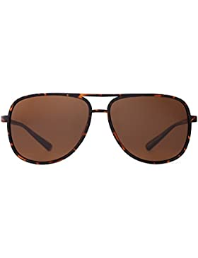 Occhiali da Sole Retro Polarizzati Aviator Specchio Leggero Uomo Donna