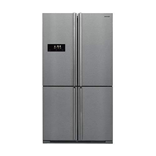 SHARP sjf1560e0i - réfrigérateur Multi-Portes - 560l (390+170) - Froid ventilé Advanced no Frost - a+ - l91 x h185 cm - INOX