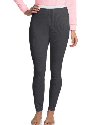 Hanes - Pantaloni termici -  donna grigio - grigio