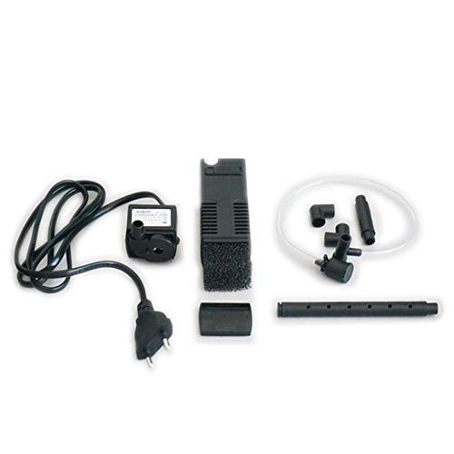 rium Filter Water Pump with Spray Bar Filtration Durable for Fish Tank ()