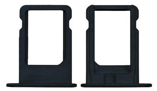 iRepair® Nano SIM Tray für Apple iPhone 5 schwarz/antrazit - GSM-Karten-Schlitten/Halter Gsm-iphone