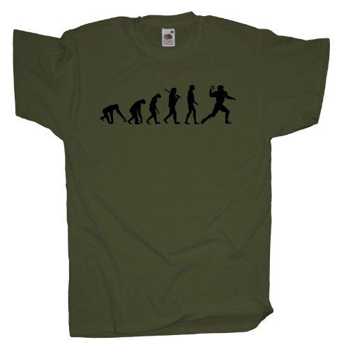 Ma2ca - Evolution - Football T-Shirt Olive