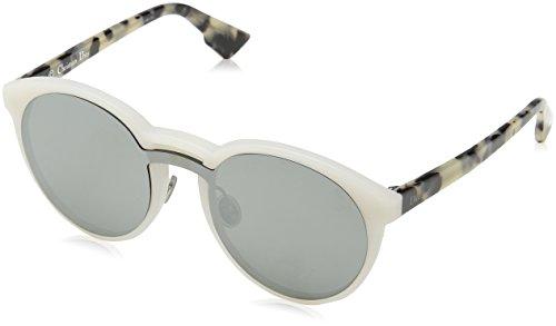 Dior Damen DIORONDE1 0T X61 Sonnenbrille, Weiß (Mtwhite Havana/Grey Silver AR), 99