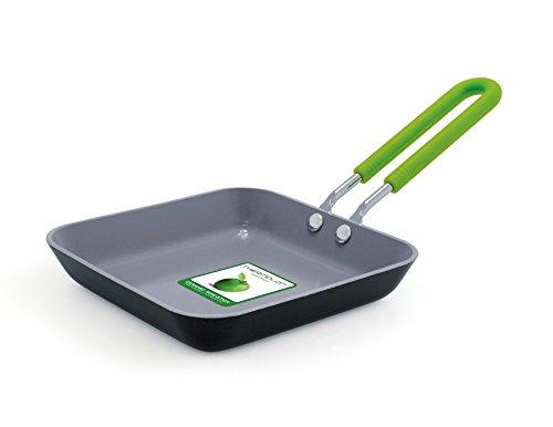 GreenPan 12,5 cm in ceramica antiaderente Piazza aperta Fry Pan con Custodia in silicone
