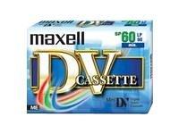 Maxell Cassetta vergine miniDV 60 min Confezione da 1