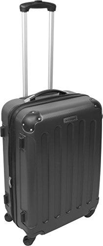 ABS Hartschalen Koffer Set von normani® in verschiedenen Farben und Ausführungen Farbe ANTHRAZIT -
