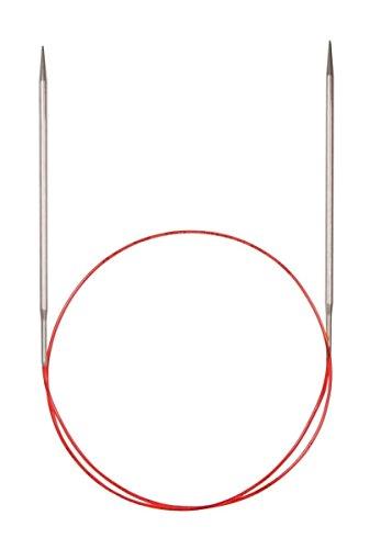 Addi Turbo Spitze Rundstricknadeln, metall, White Bronze, 50 cm, 3.0 mm (Rundstricknadeln 50)