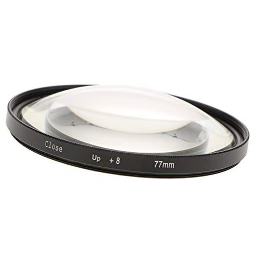 Baoblaze 55/62/67/72/77mm Makro Close-up Filter + 8 Nahaufnahme Optische Linse Filter für DSLR Digitalkamera - 77mm