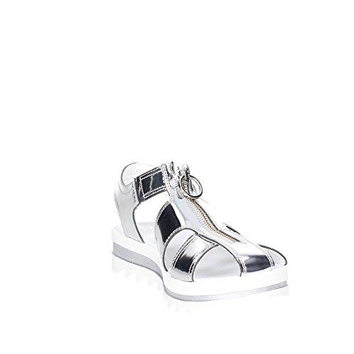 Cult CLJ101736 Sandalo Donna Argento