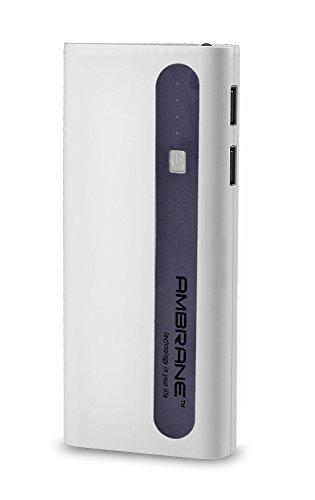 Ambrane 13000 Mah Power Bank P-1310 White & Purple